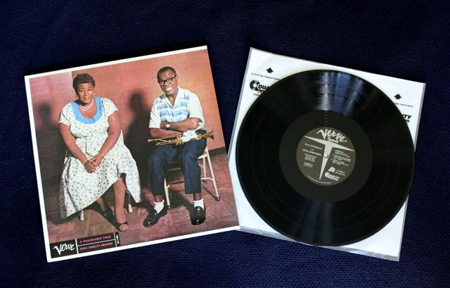 Album Review Ella And Louis On 45 Rpm Vinyl Hifiqc