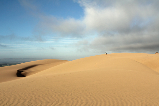 Inspiration for Sound Design: Guadalupe Sand Dunes