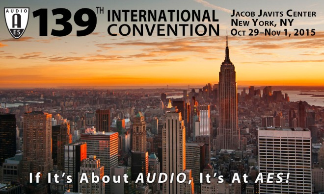 Audio Engineering Society's 139th Convention